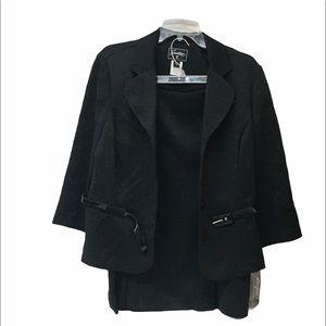 NWT Sweet Suit Black Size 12 Women's